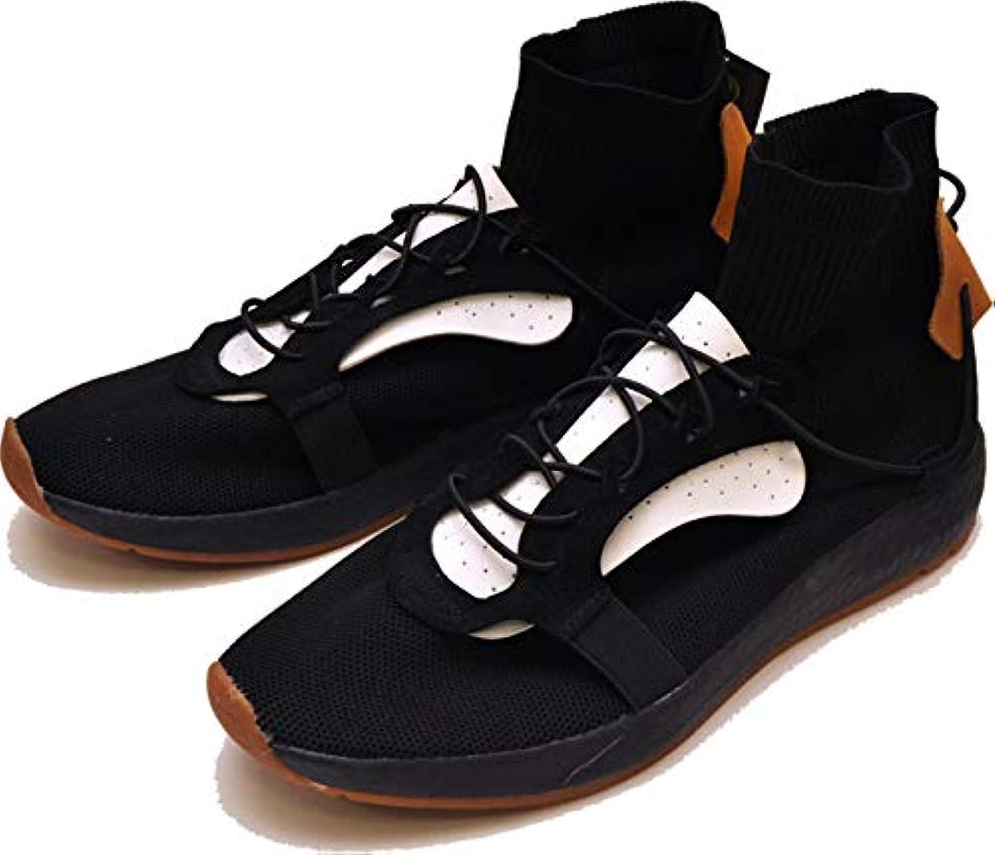 どちらかに向けて出発セラーYOSUKE U.S.A ヨースケ ブーツ ミッドカット スニーカーブーツ スニーカーソックスブーツ