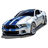 Zerodis Ford Mustang Car Model Need for Speed Special Edition,1:24 Simulation Miniature Alloy Racing Car Model Toy Gift Collection Decoration