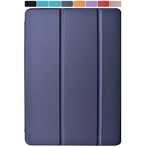 "DuraSafe Cases for iPad PRO 2016-9.7"" MLMP2LL/A MM172LL/A MLMN2LL/A MLMW2LL/A MLMX2LL/A MM192LL/A MLMV2LL/A Ultra Slim Energy Saving Case with Adjustable Stand Feature and Sleek Design - Navy Blue"