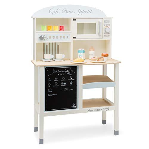 New Classic Toys- Grand Café-Bon Appetit, 11070, Natural