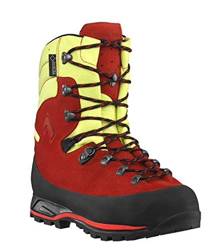 Haix Protector Forest 2.0 red-Yellow Schnittschutzschuh für mehr Sicherheit bei der Arbeit im Freien. 43