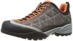 Injected EVA midsole provides support and comfort Rubber toe rand gives you protection from obstacles on the trail Vibram Spyder II sole for performance in varied terrain SCARPA Sock-Fit DV construction provides a performance fit 37.5 fabric lining t...