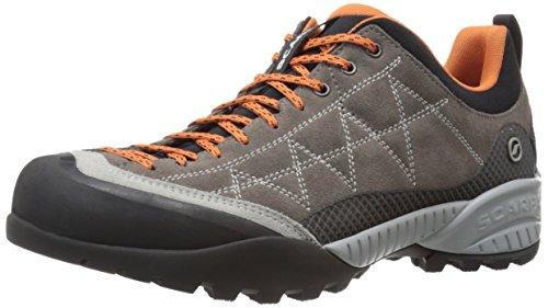 SCARPA Unisex-Adult Zen PRO Hiking Shoe-U, Charcoal/Tonic, 11.5 Women/10.5 Men