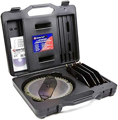 wholesale Amana Tool 658040 Carbide Tipped Dado 8 Inch D x 46T ATB/FT -5 popular Deg, 5/8 2021 Bore, Dado Set online sale