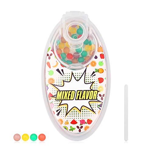 Tianbi - Confezione da 100 pezzi con palline di esplosione fai da te e mentolo, aromi, aromi, aromi, aromi, capsule, palline di esplosione