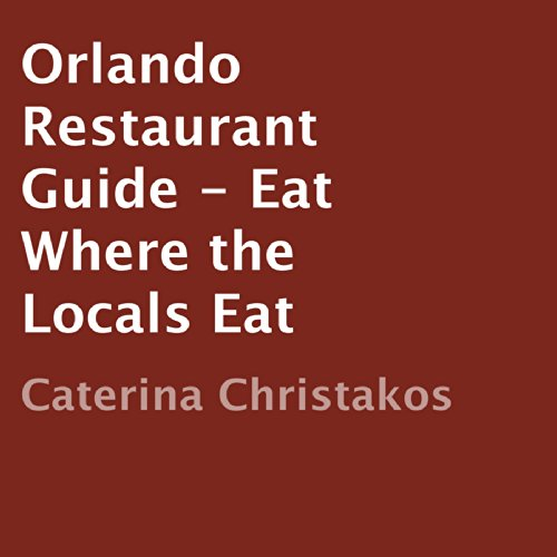 Orlando Restaurant Guide audiobook cover art