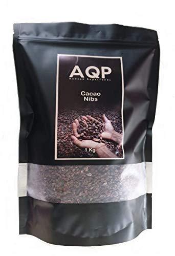 Nibs de Cacao (1kg), Esencia Natural del Chocolate - Sin Azúcares Añadidos - Producto Vegano, 100% Natural de la Amazonía Peruana