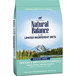 Natural Balance dog food reviews Limited Ingredient Diets Chicken & Sweet Potato