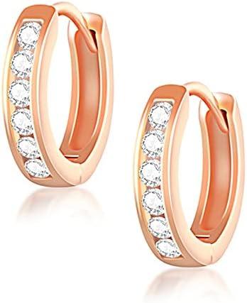 Huggie Sale Earrings Small Hoop Gold Rose S or Silver Las Vegas Mall