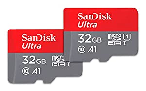 SanDisk 32GB 2-Pack Ultra microSDHC UHS-I Memory Card (2x32GB) - SDSQUA4-032G-GN6MT