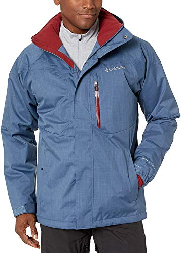 Columbia Alpine Action Chaqueta de esquí, Hombre, Multicolor, Talla: M