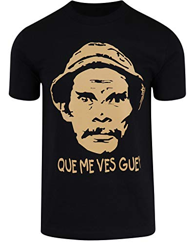 ShirtBANC Que Me Vez Guey El Chavo del Ocho Don Ramon Shirt (L, Don Ramon Que Me VES Guey)