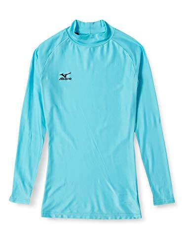 (ミズノ)MIZUNO ウィメンズ バイオギアシャツ(ハイネック長袖) A76BS350 19 サックス S