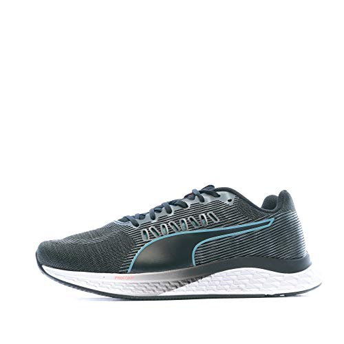 PUMA Speed SUTAMINA Wns, Zapatillas de Running para Mujer, Black-Milky Blue-Pink Alert, 39 EU