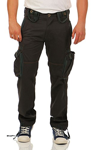 Alpha Industries Tough Cargo Hose Greyblack, Grey,