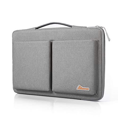 SIMTOP Laptop Tasche Aktentasche für 360 ° Protection 14-15 Zoll Laptop Schutzhülle Hülle Kompatibel mit 15 Zoll MacBook Pro Laptop Hülle Modell A1990 A1707/PROBOOK 440/640 /Pavilion X360