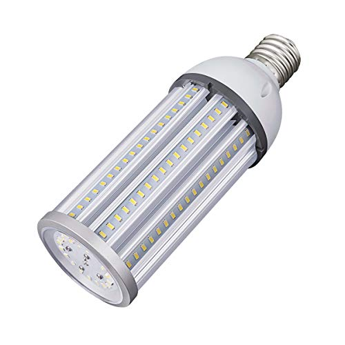 60W LED Corn Light Bulb E39 Mogul Base LED Lights Equivalent(300W) 5000K Daylight IP65 Waterproof Replacement HID HPS for Indoor Area Warehouse High Bay Street Light …