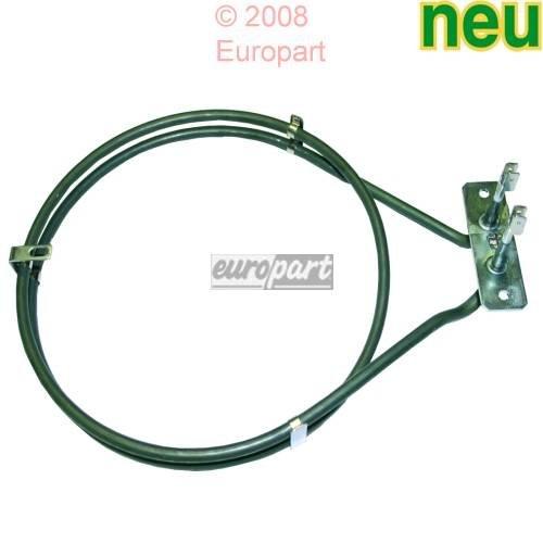 backofen Heißluft Heizelement Ringheizung 2000W für Electrolux 357042405, Zanker, Privileg 01006480, 7164r481