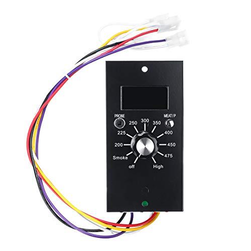 Tablero del termostato del controlador de temperatura digital de 120 V de reemplazo de actualización para parrillas de pellets Pit Boss