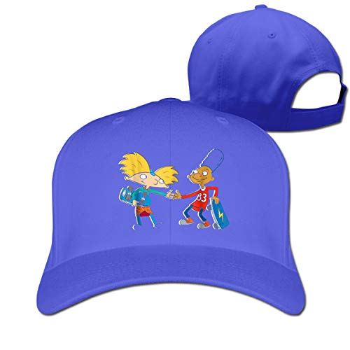 Hkdfjg Hey Arnold Unisex Hat Solid Color Cap Adjustable Peaked Cap