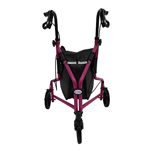 Aids 4 Mobility Tri Walker with Lockable Brakes