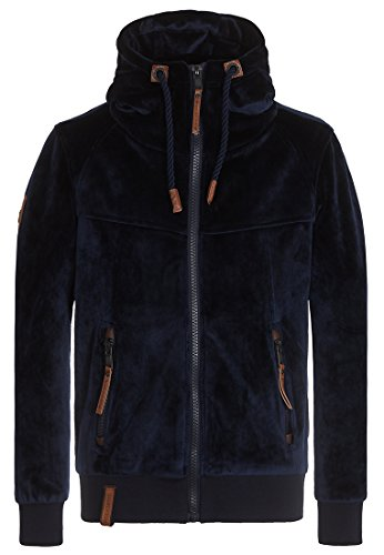 Herren Jacke Naketano Surviving Is A Spirit II Jacke, Dark Blue, Gr. S