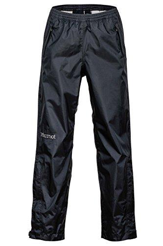 Marmot Youth PreCip Waterproof Rain/Hiking Pant, Black, Medium