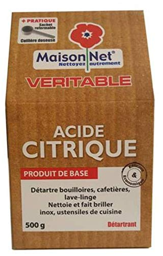 Maison Net Acide Citrique 500 g