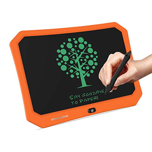 mom&myaboys LCD Drawing Tablet for Kids, Best Gifts for 4-9 Year Old Boys Girls,Teen Boy Girls Birthday Presents Gifts,17 in Handwriting Pad Messsage Board Learning Board,Best Toys for Kids(Orange)
