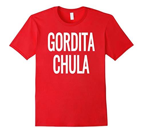 Gor.DITA Chula- Cute Little Fat, Chunky Girl Latin T-Shirt - T Shirt for Men and Woman.