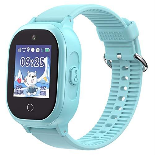ZLLAN GPS Kids Smart Watch Position Posición Teléfono Niños Ver 1.3 Pulgadas Color Pantalla táctil Esposa SOS SMS Smart Baby Watches Tracker Mujeres Hombres (Color : B)
