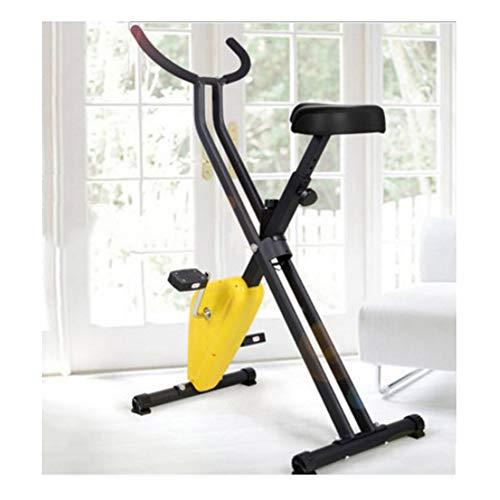 Hometrainer voor binnenshuis, hometrainer - Weerstandsbandsysteem - Hometrainer - Opvouwbare fitness-binnenfiets