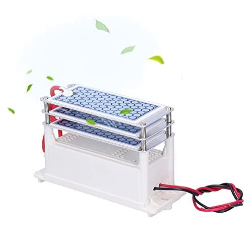 Plyisty Generador de ozono, purificador de Aire portátil de 15G, máquina de...