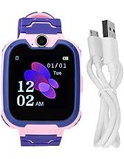 Kid Phone Watch Noodoproep Multifunctionele wekkerhorloge Smart Kid Watch(Roze)