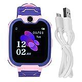 Socobeta Multifunktionale Kinder-Armbanduhr mit Wecker, für Notruf, Smart-Kinderuhr (Pink)