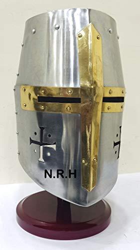 Romaine Lorica Segmentata Armor avec romaine Armure Casque Avec Noir Plume roman Helme