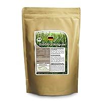 La poudre d'herbe d'orge Nurafit BIO est riche en vitamines naturelles, sels minéraux et oligoéléments d'une qualité sans compromis, la poudre d'herbe d'orge Nurafit BIO est cultivée en Allemagne, traitée soigneusement et certifiée bio – Règlement (C...