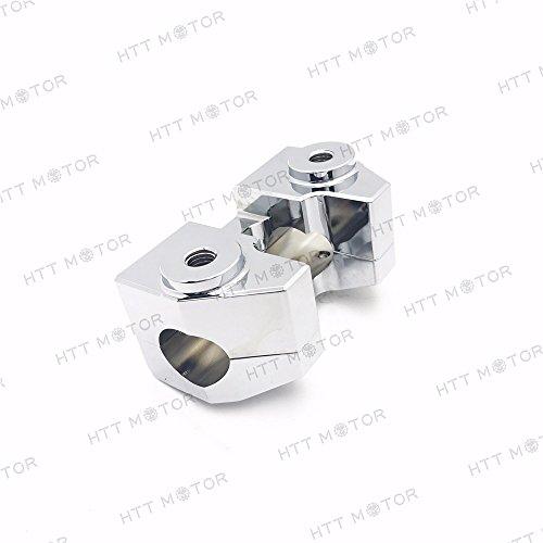 SMT-Handlebar Risers Compatible With True 1 1/4' diameter Bars 1997 & Newer Harley Road King [B0779QX55T]