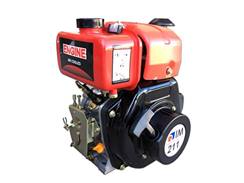Motor diésel IM211 cónico de 4 tiempos para motozappas y motocultores