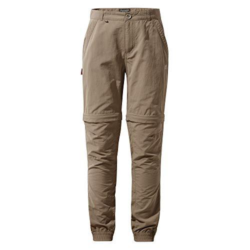 Craghoppers - Pantalon Convertible TERRIGAL - Unisexe (5-6 Ans) (Beige)