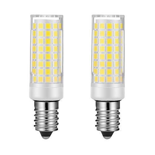 Replace Salt lamp E14 Light Bulbs Daylight White Equivalent 60W Incandescent Bulb, E14 European Base Bulb Cooker Hood Light Bulbs Filament Candle Shape Light Bulb Set of 2 Non-Dimmable