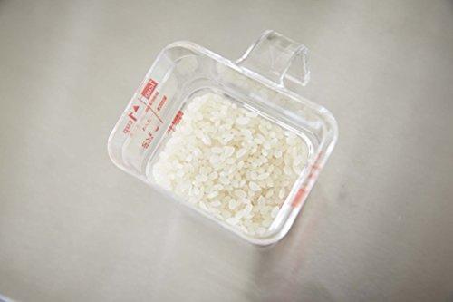 山崎実業計量カップ段々米計量カップレッド3380