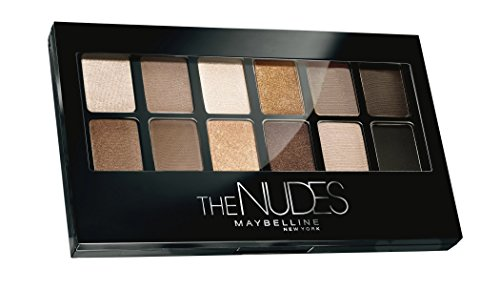 Maybelline New-York – Palette Fards à Paupières – The Nudes – 12 couleurs