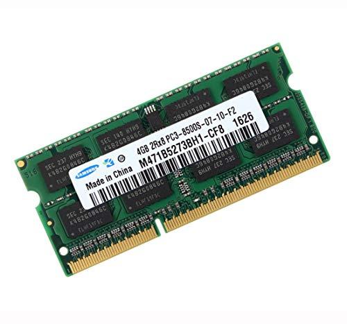 Samsung 3rd 4GB DDR3 1066MHz (PC3 8500) SO Dimm Notebook Laptop Arbeitsspeicher RAM Memory (Für Apple & PC)