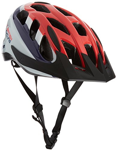 Lazer Cyclone S British Casco de Ciclismo, Unisex, Cyclone S British Cycling, Rojo