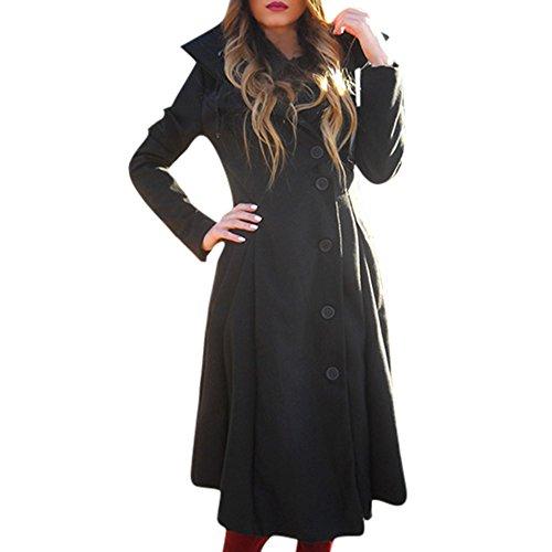 Herfst winter wollen jas dames Vrouwen winterjas gothic kleding dames lange winter outwear overgangsjas mode elegant streetwear warm comfortabele kleding blouse tops S-5XL