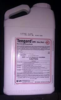 Tengard SFR 36.8 % Permethrin Insecticide / Termiticide 1.25 Gallon ~~ Kill Termites Fleas Ticks Roaches Ants Mole Crickets Ching Bugs and Many More Pests Used By Many Pros!!