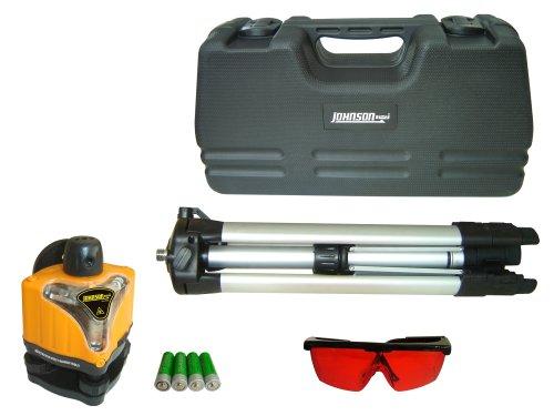Johnson Level & Tool 40-0918 Rotary Man Laser Level,