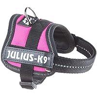 Julius-K9 PowerHarness para perros, color Rosa oscuro, talla Baby 1