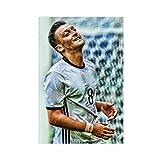 Mesut Ozil Fußball-Kunst-Poster auf Leinwand,